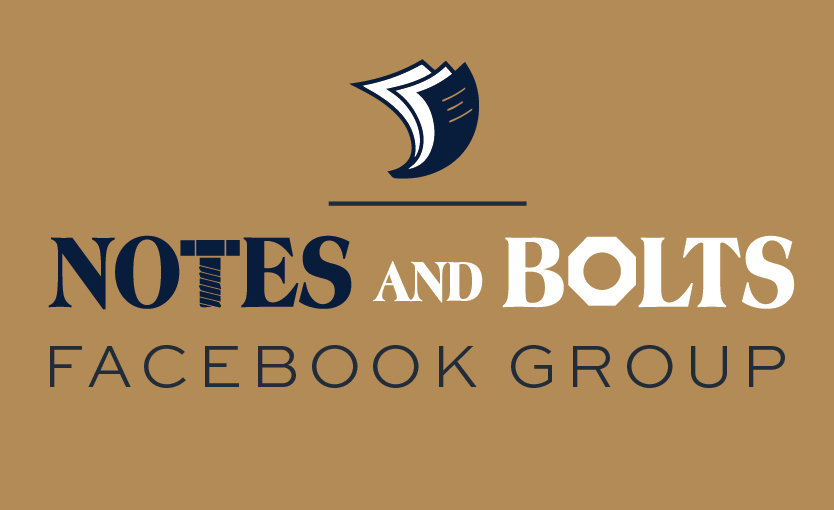 Notes and Bolts Facebook Group